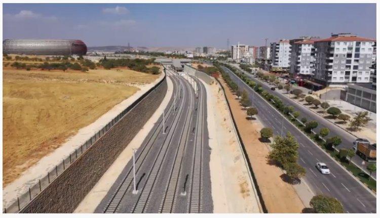 Gaziantep'te Gaziray projesi hızla devam ediyor